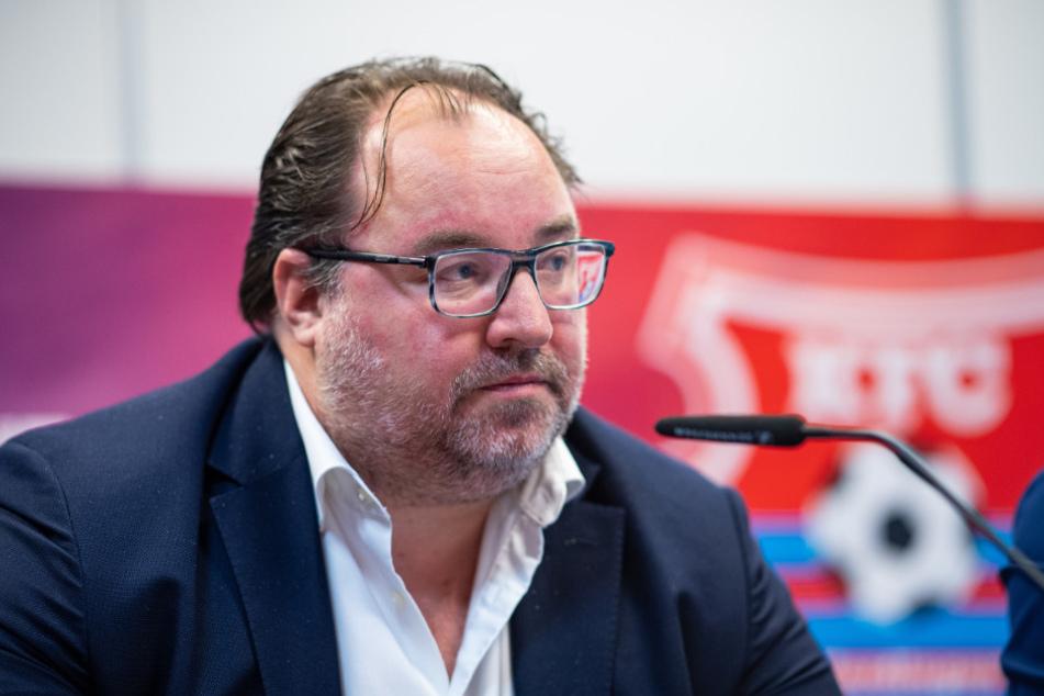 Michail Ponomarew, Präsident des KFC Uerdingen.