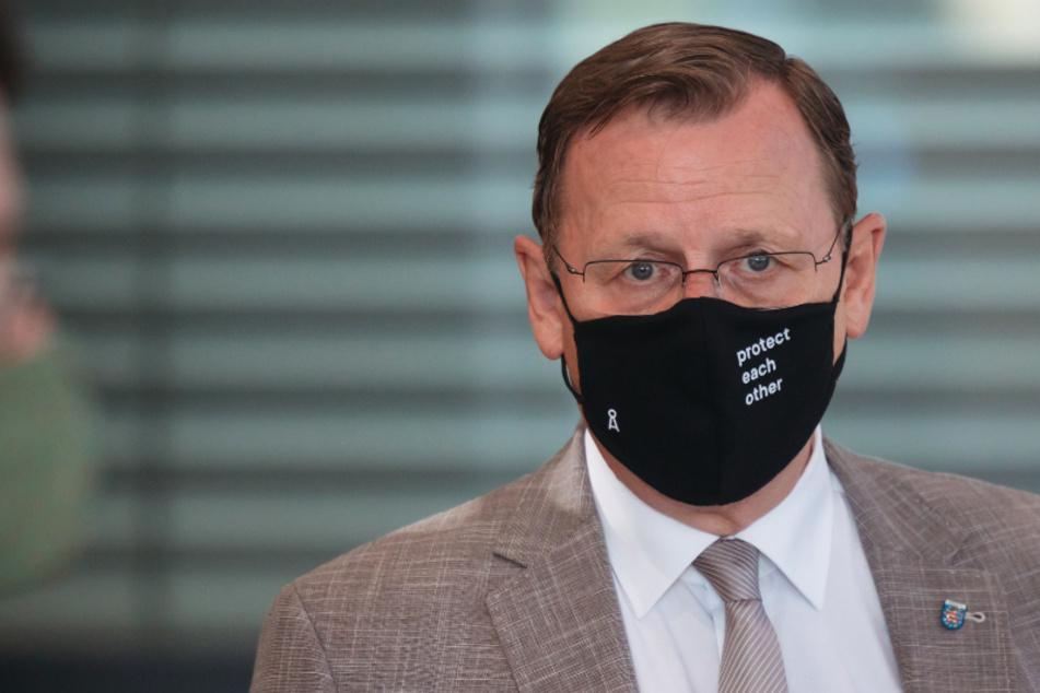 Politik-Beben in Thüringen: Ramelow zeigt AfD-Mann den Stinkefinger