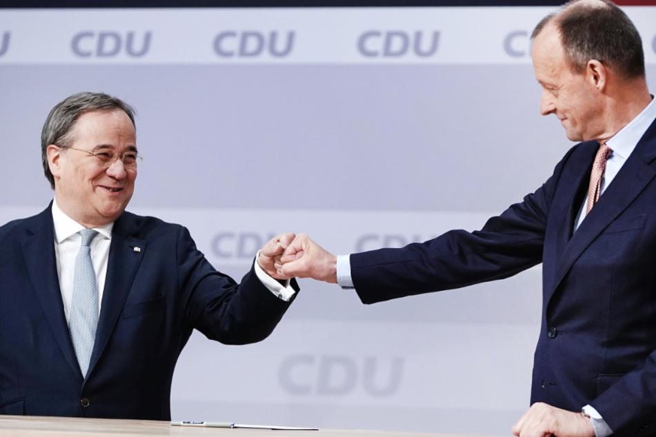 Friedrich Merz wirbt um Unterstützung für neuen CDU-Chef Laschet