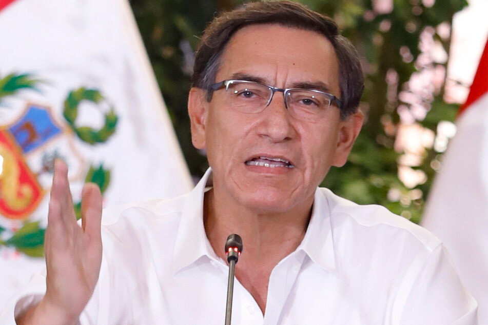 Perus Präsident Martín Vizcarra (57). (Archivbild)