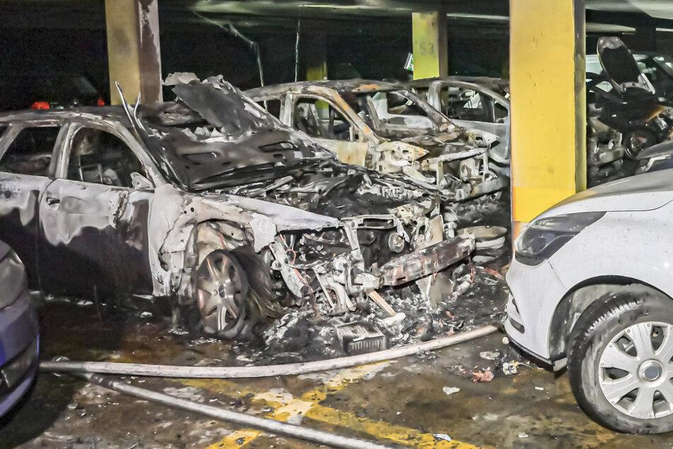 800.000 Euro Schaden nach Brand in Tiefgarage