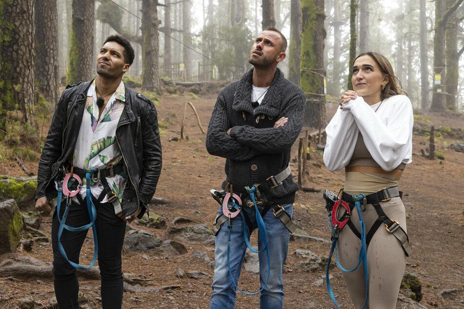 Doppel-Date für Lela (26) mit Habibi (27, l.) und Max (31) hoch in den Bergen Teneriffas.