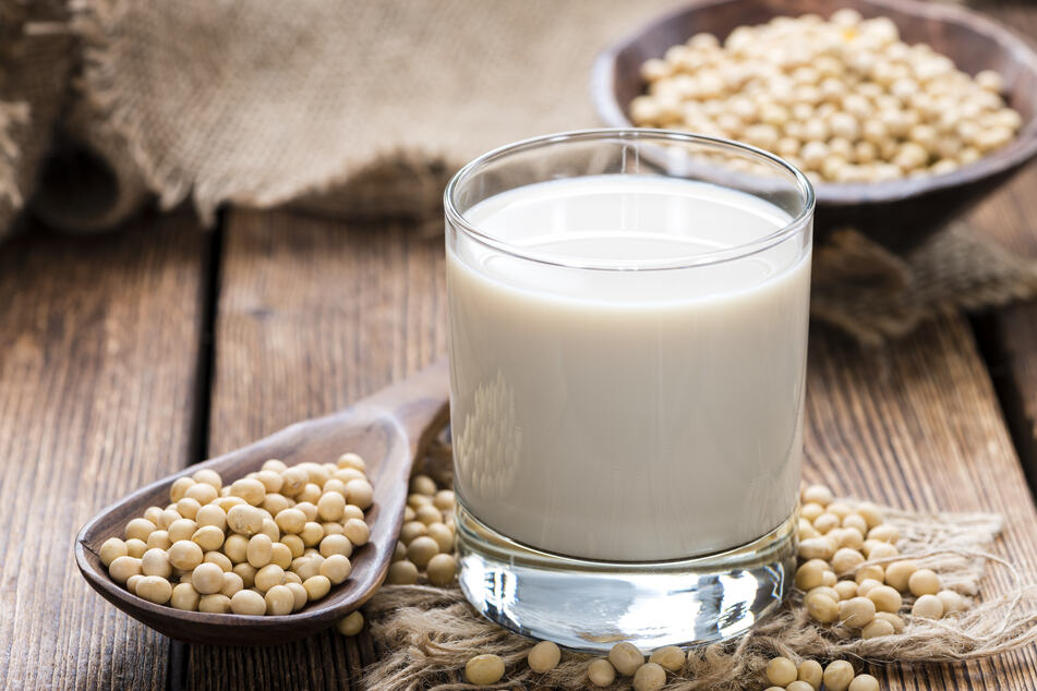 Soy is also often a good choice for people who are lactose intolerant (stock image).