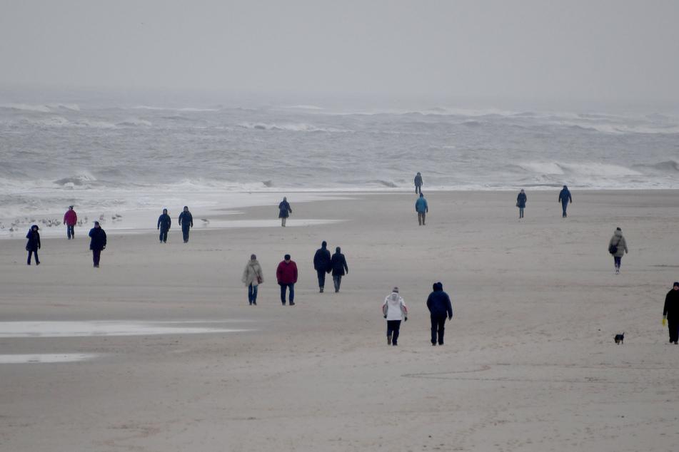 Alle Inseln der Nord- und Ostsee (wie hier Sylt) werden ab Montag für Touristen gesperrt.