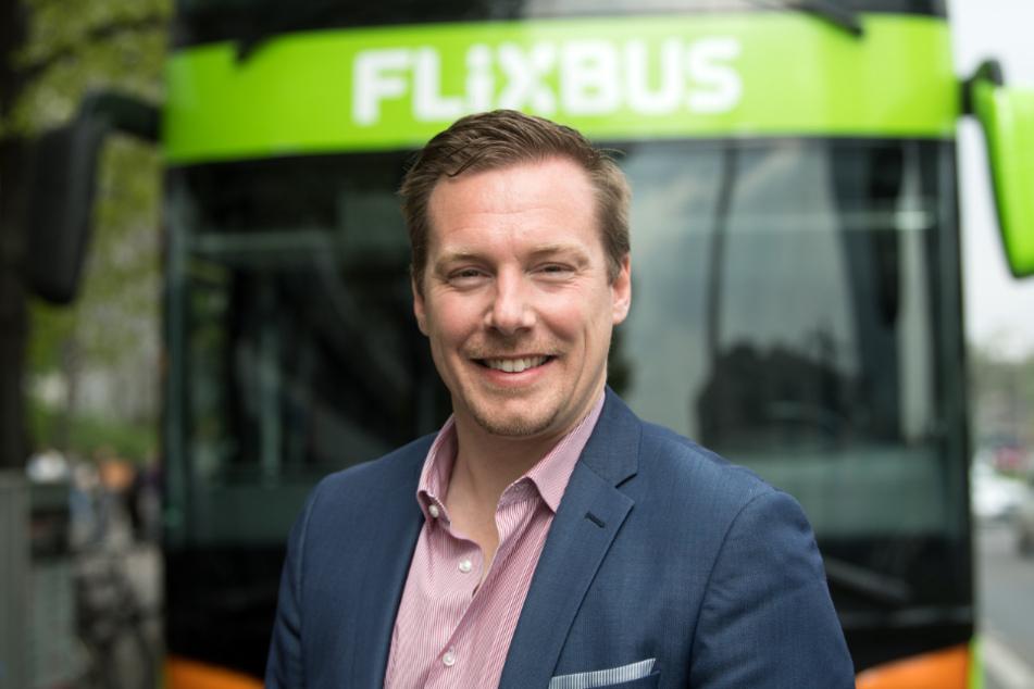 Andre Schwämmlein, Gründer und Geschäftsführer von Flixbus.