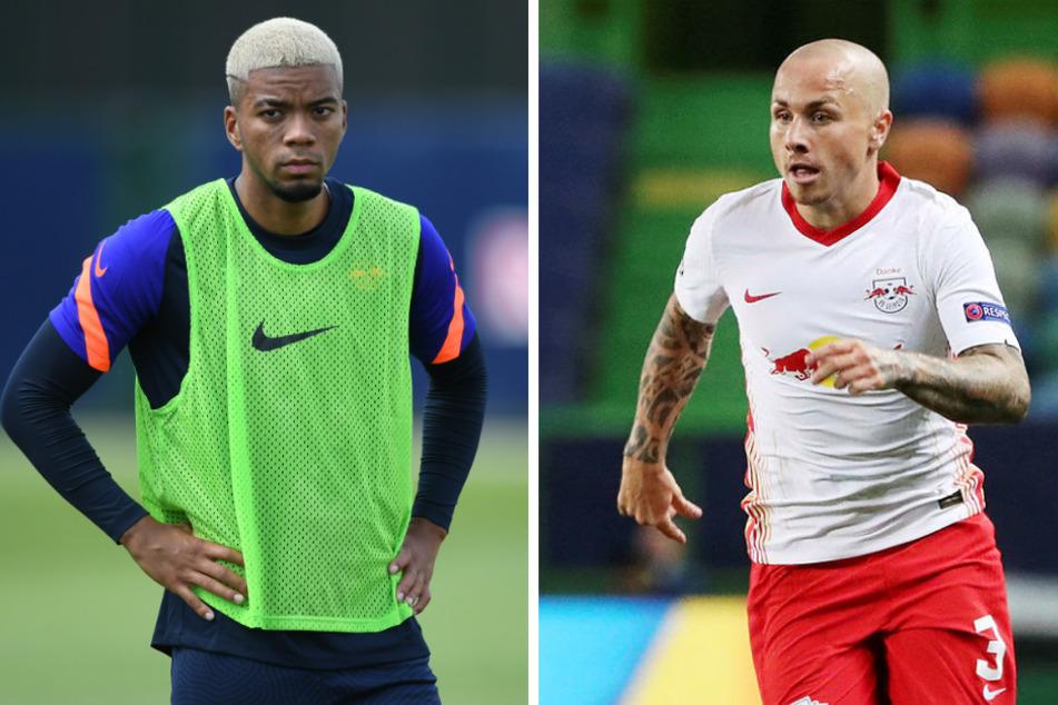 Nach mehreren Anläufen konnte sich RB mit Monaco über eine Leihe von Benjamin Henrichs (23, l.) einigen. Linksverteidiger Angelino (23) bleibt ein weiteres Jahr in Sachsen, zudem sicherte sich Leipzig eine Kaufoption von Manchester City.