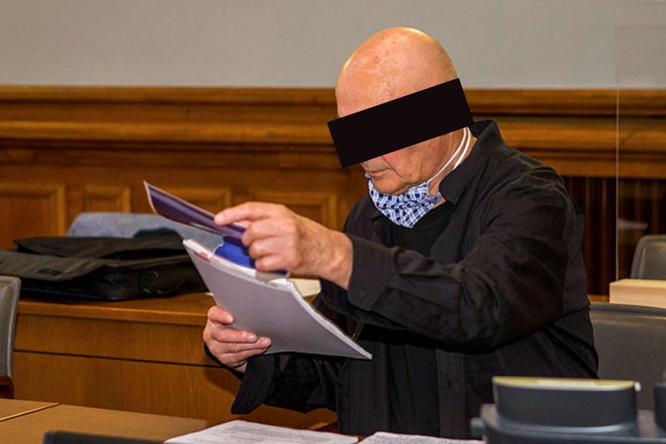 Dieter B. (75) muss sich wegen versuchten Mordes verantworten.