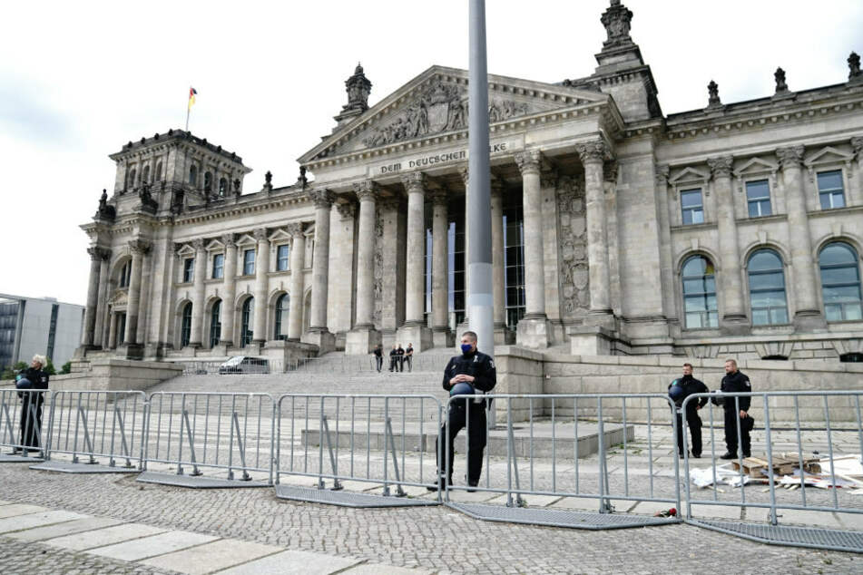 Nach Corona-Protesten in Berlin: Lage hat sich entspannt