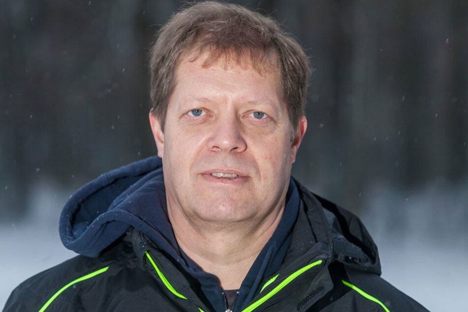 Initiator Thomas Ebell (54) freut sich über viel Zustimmung zur  50-Meter-Bahn.