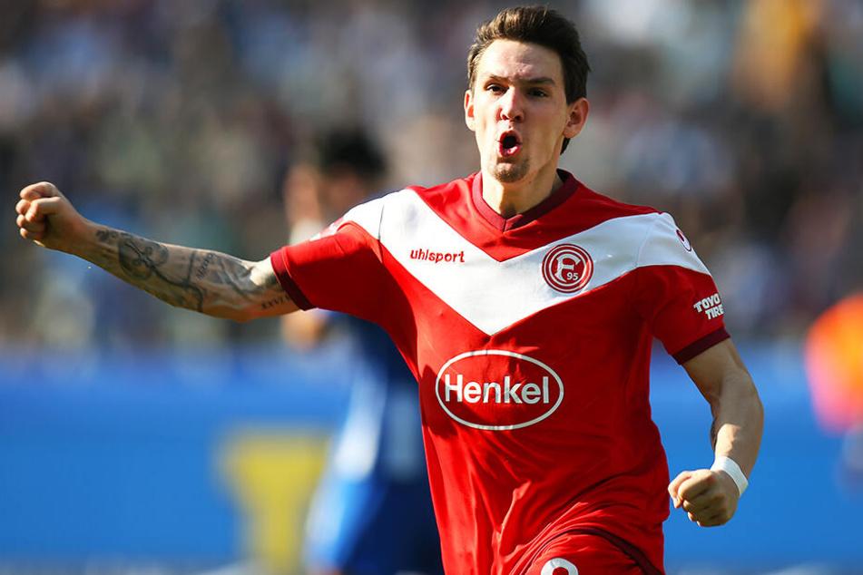Benito Raman hat nach einer starken Saison bei Fortuna Düsseldorf das Interesse des FC Schalke 04 auf sich gezogen.