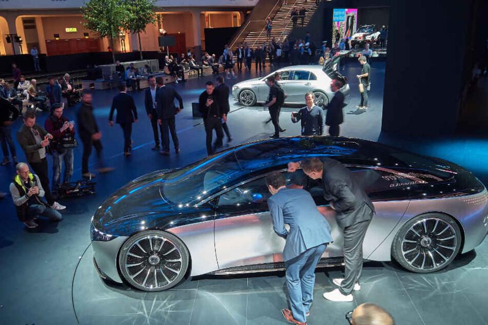 Die Mercedes-Studie Vision WQS auf der IAA.