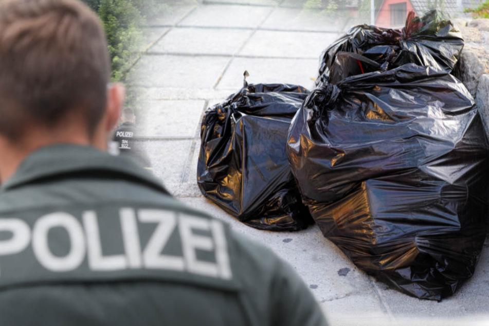 Zwei solcher Tüten mit Fleisch hat die Polizei am Wegesrand gefunden (Symbolbild).