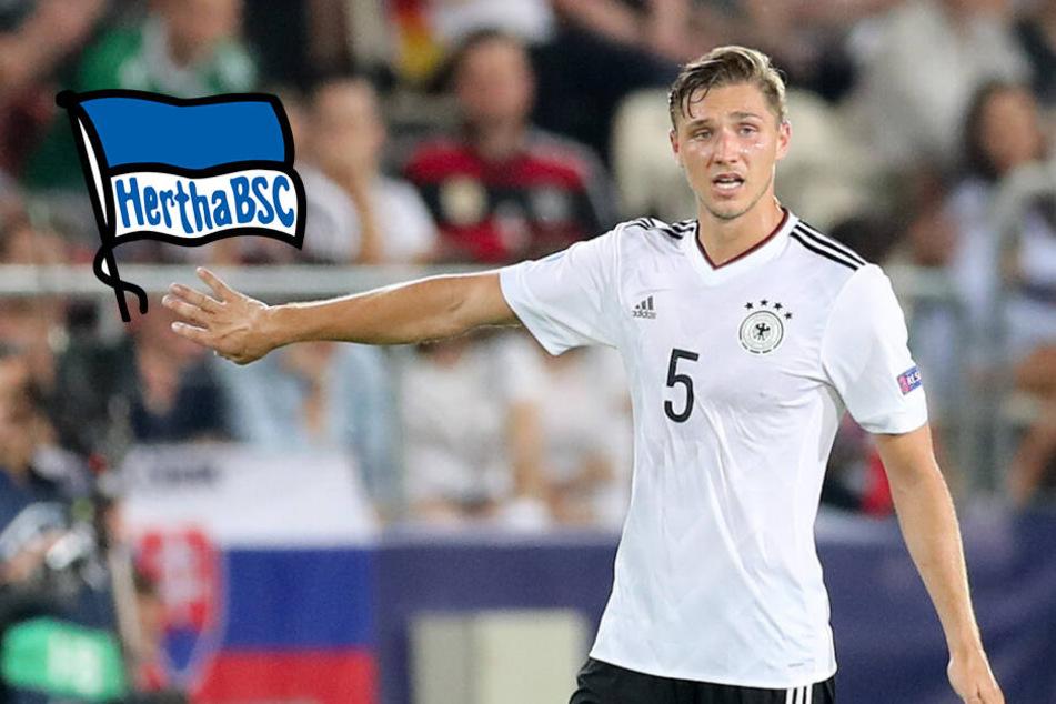 Bitter für Hertha-Star Niklas Stark: DFB-Debüt geplatzt!