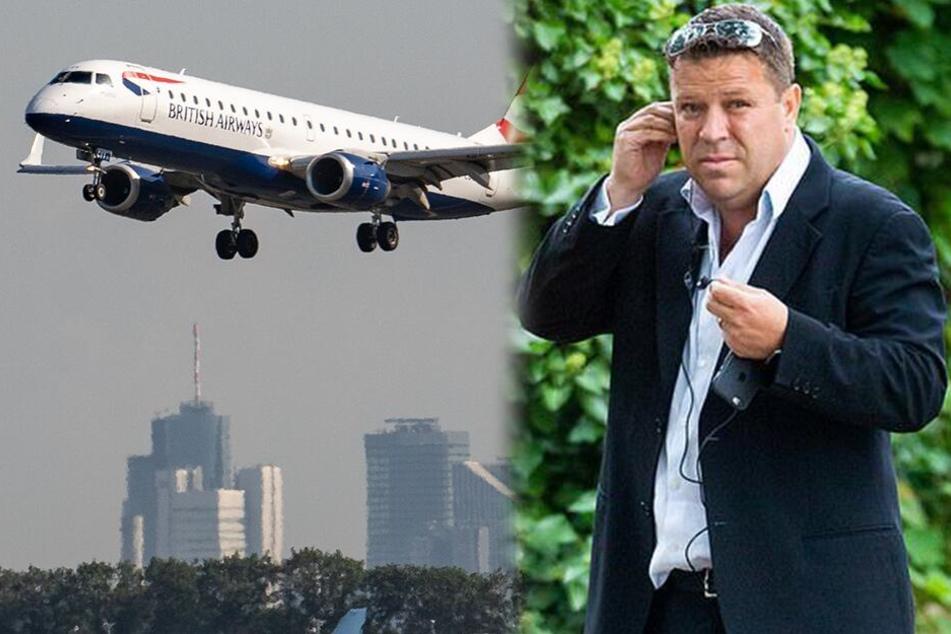 Stewardess weckt Passagier, dann rastet dieser komplett aus