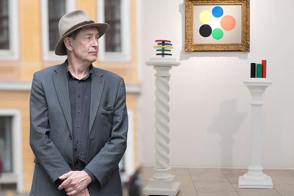 Rätselraten! Wer ist der geheimnisvolle Künstler bei Holger John?