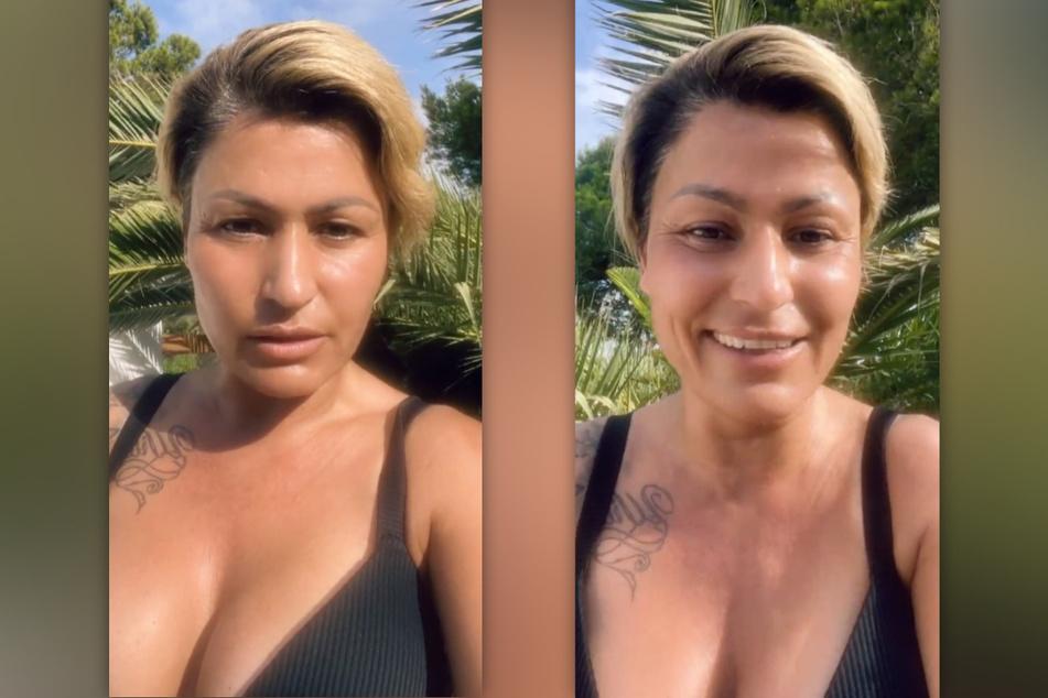 Jasmin Herren (42) gibt ihren Fans bei Instagram ein Update. (Fotomontage)