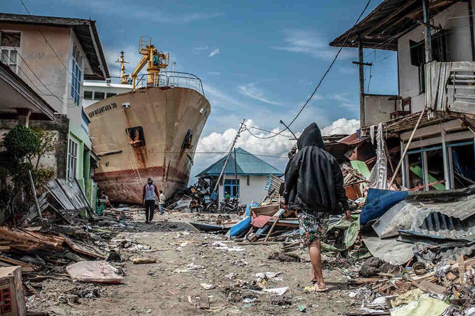Wegen des Ausmaßes der Zerstörung fragen sich die Behörden, ob viele Tote je geborgen werden können.