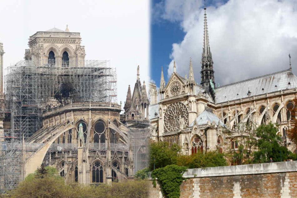 Krass: So lange könnte der Wiederaufbau der Pariser Kathedrale dauern