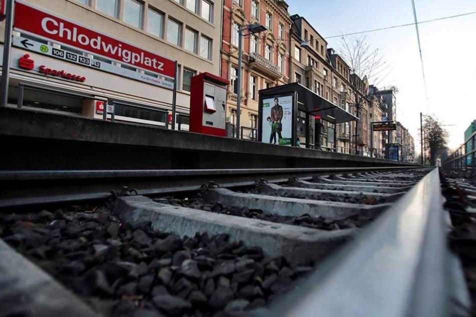 Das Unglück geschah an der Haltestelle Chlodwigplatz (Archivbild).