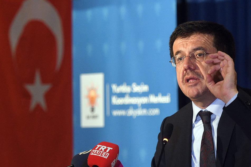 Österreich hat dem türkischen Wirtschaftsminister einen Auftritt untersagt.
