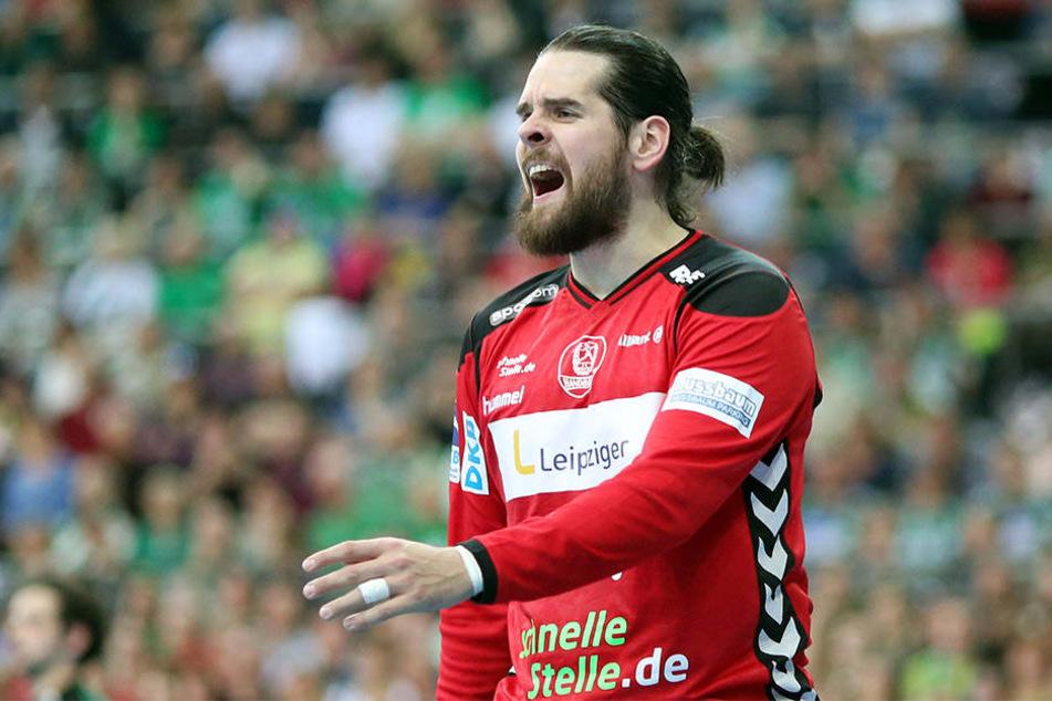 Konnte nicht zufrieden mit dem Auftritt seines Teams sein: Torwart Milos Putera.