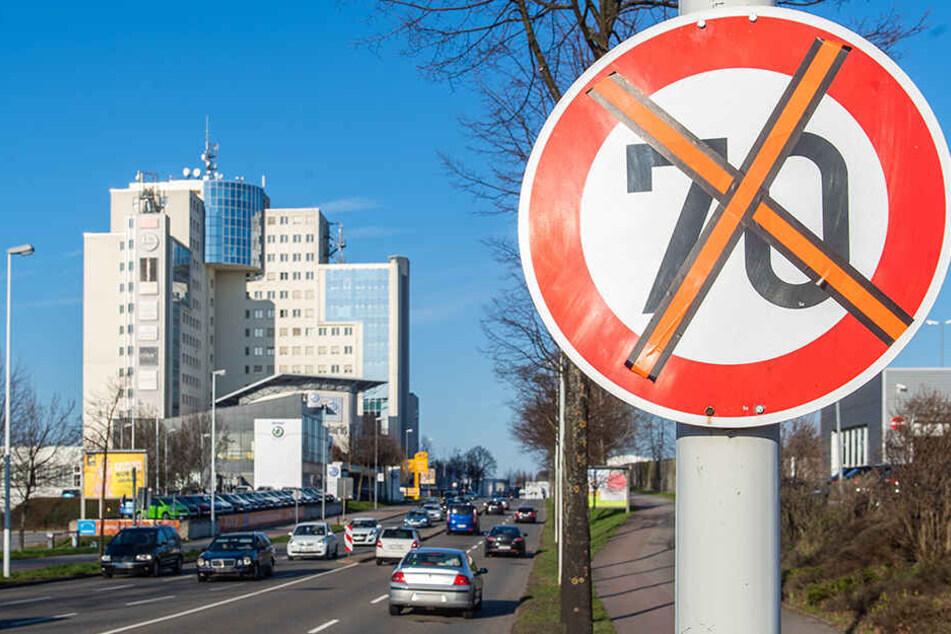 Abzocke in Chemnitz? Plötzlich nicht mehr Tempo 70, schon wird geblitzt