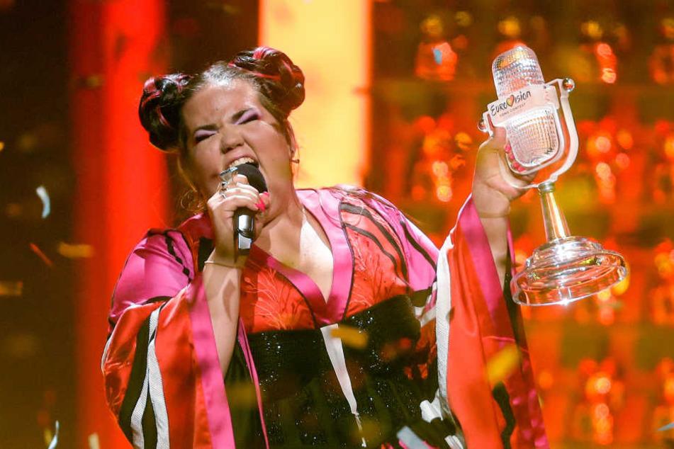 """ESC-Siegerin Netta hatte das Finale Mitte Mai mit ihren Song """"Toy"""" klar für sich entschieden. Doch nun gibt es Ärger."""