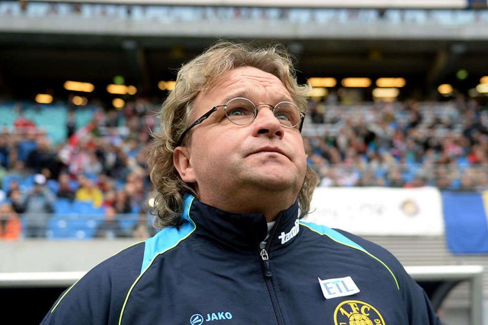 Das Team von Trainer Heiko Scholz (51) konnte auch beim Heimspiel gegen den FC Carl Zeiss Jena keine Punkte holen.