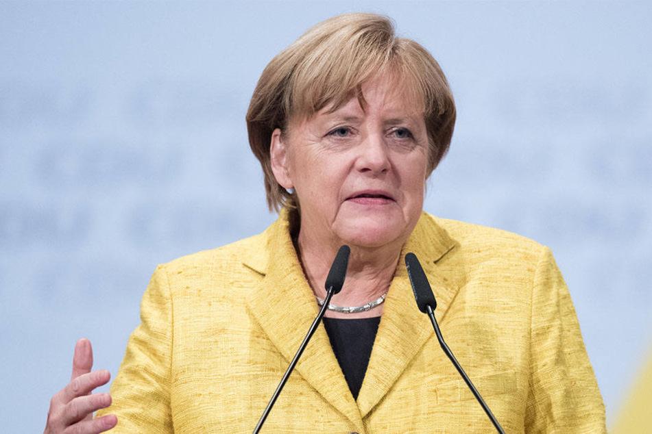 Angela Merkel findet, dass Verlustängste der Grund sind, dass viele Wähler sich für die AfD entschieden haben.