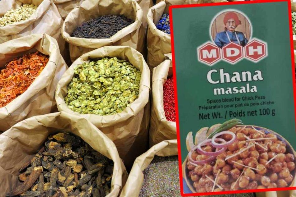 Konsumenten, die die indische Gewürzmischung gekauft haben, bekommen ihr Geld zurück. (Fotomontage)