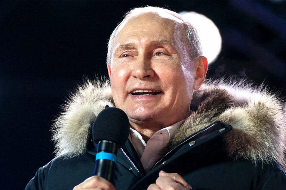 Wladimir Putin gewann die russische Präsidentschafts-Abstimmung.