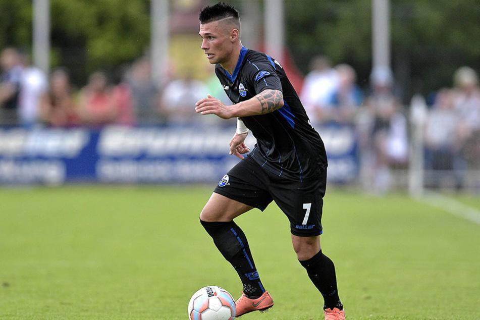 Der 23-jährige Linksfuß Niko Dobros verlässt den SC Paderborn und geht zum SV Elversberg.