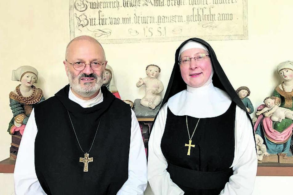 Die neue Klosterchefin von St. Marienstern: Das Konventkapitel wählte jetzt Priorin Schwester Gabriela Hesse zur 44. Äbtissin.