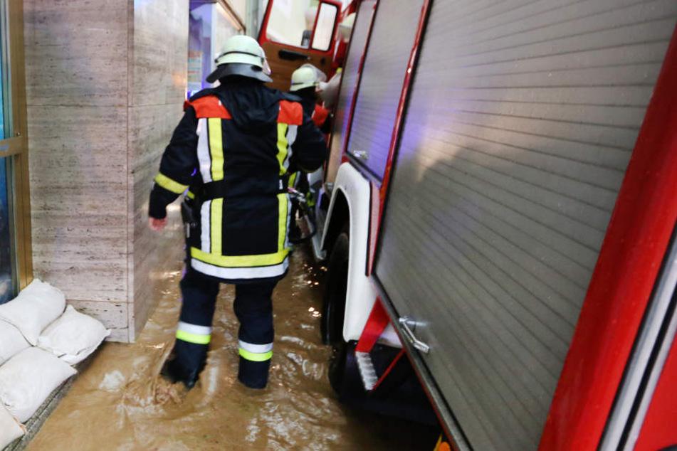 Zu Weihnachten ist die Gefahr von Hochwasser in Bayern gegeben. (Symbolbild)