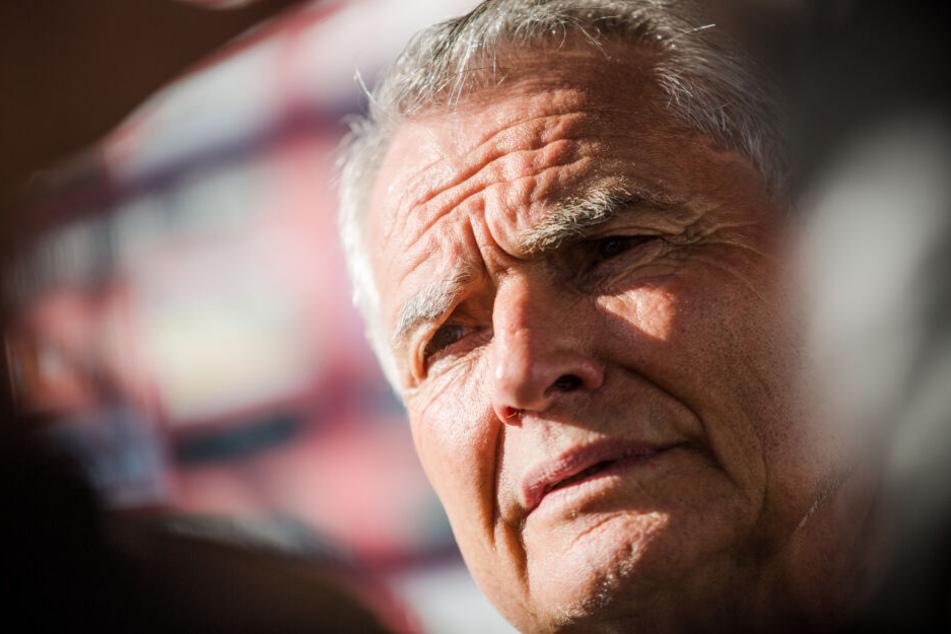 VfB-Präsident und Aufsichtrats-Chef: Wolfgang Dietrich.