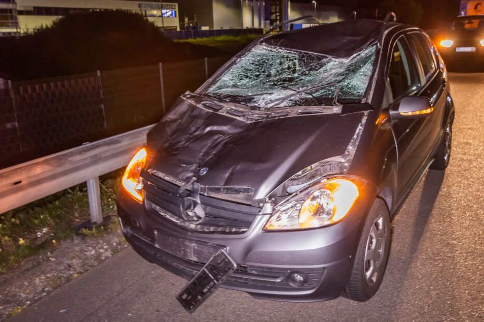 Tragischer Unfalll auf der A5: Pferd büxt aus und wird von Autos erfasst