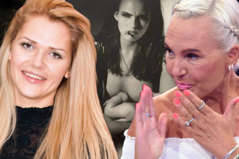 """Brüste auf den Tisch"": Natascha Ochsenknecht ledert wegen Still-Bild gegen Sara Kulka"