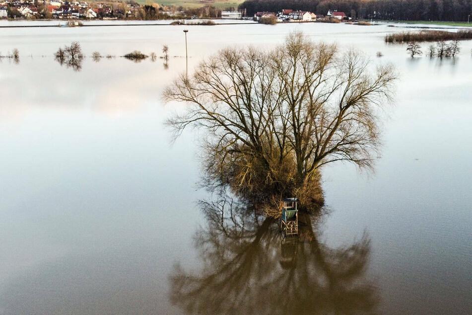 Trotz Regen entspannt sich die Hochwasser-Lage in Hessen
