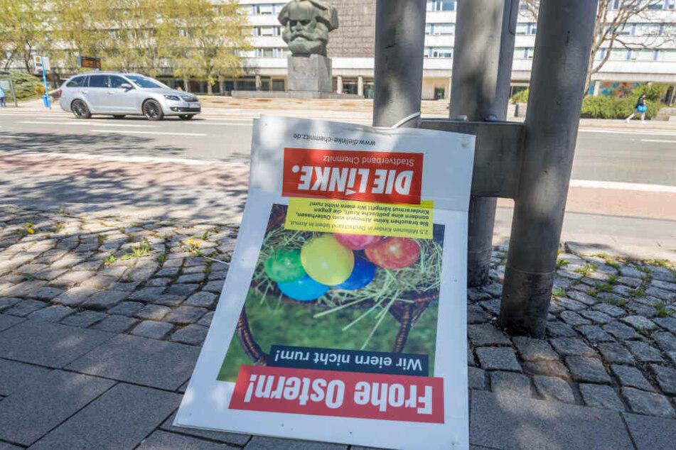 In den vergangenen Tagen wurden Wahlplakate verschiedener Parteien in der ganzen Stadt abgerissen.