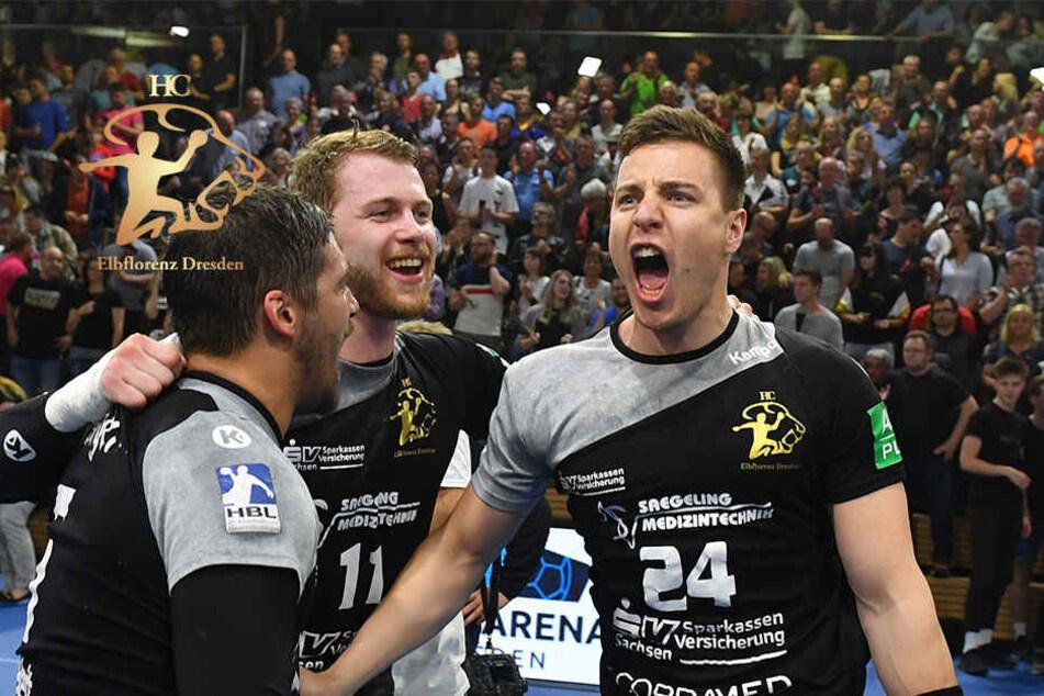 HC Elbflorenz: Ex-Champions-League-Sieger HSV Hamburg gibt sich die Ehre