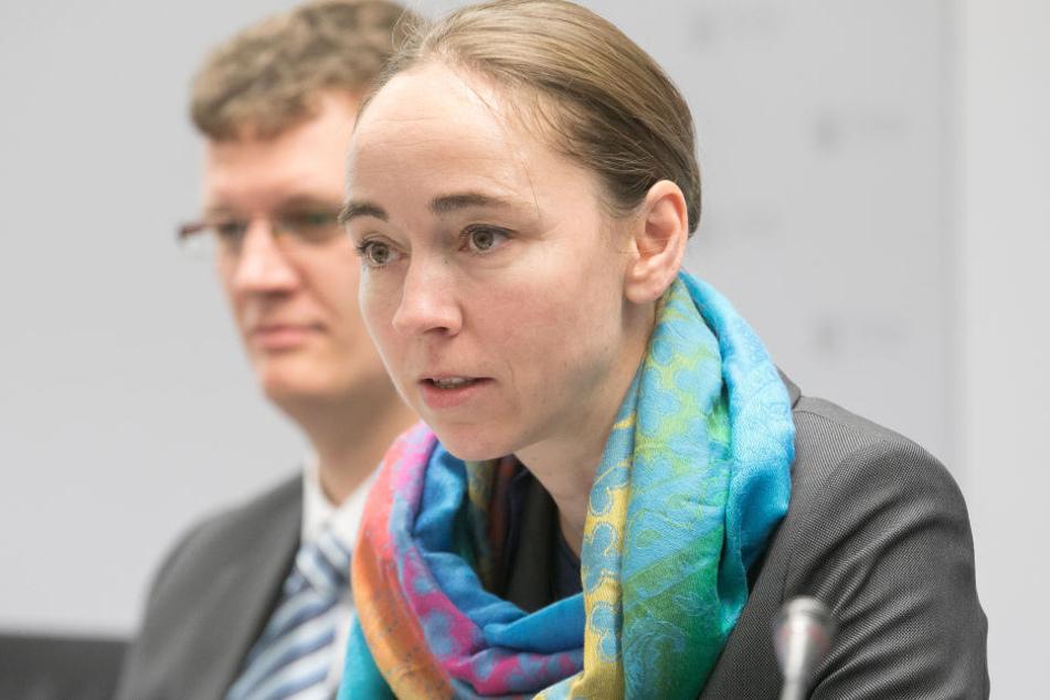 Sozialbürgermeisterin Kristin Kaufmann (40, Linke) stellte am Freitag den  Mietspiegel 2017 vor.