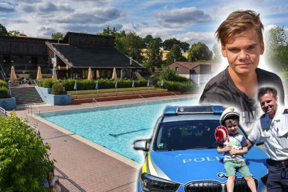 Justin (13) wird zum Lebensretter, als er sieht, dass Jakob (4) leblos im Becken treibt