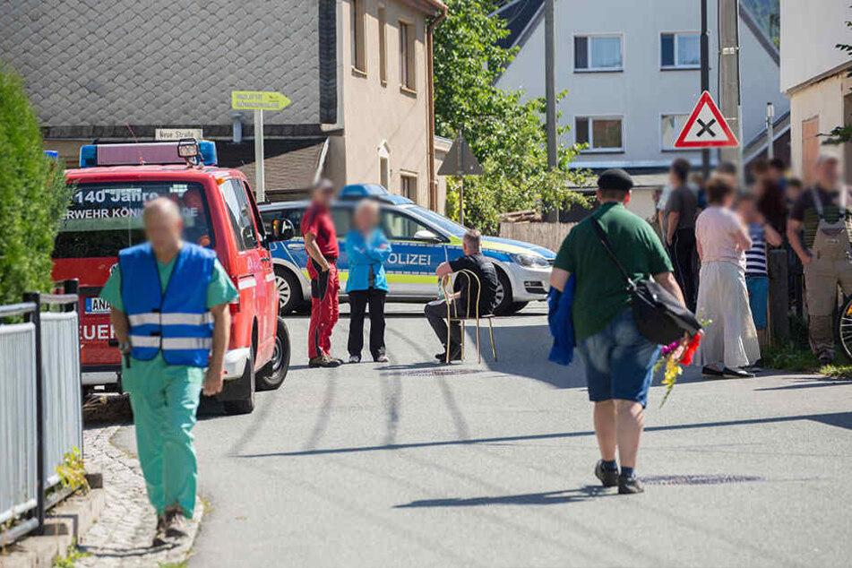 Rund 50 Personen wurden evakuiert.