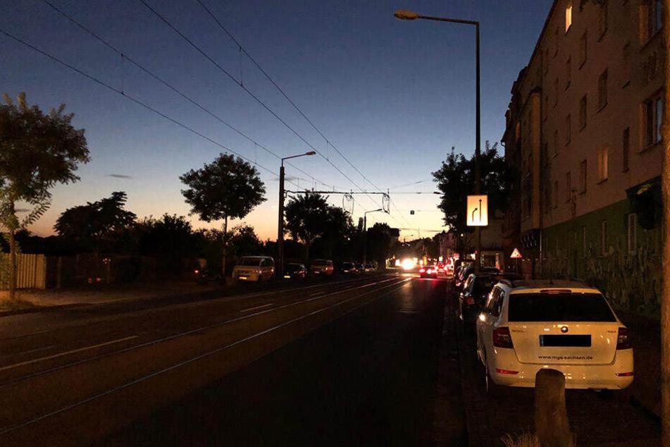 Auf der rechten Seite des Bildes gut zu erkennen: Die Wohnungen waren vom Stromausfall nicht betroffen.