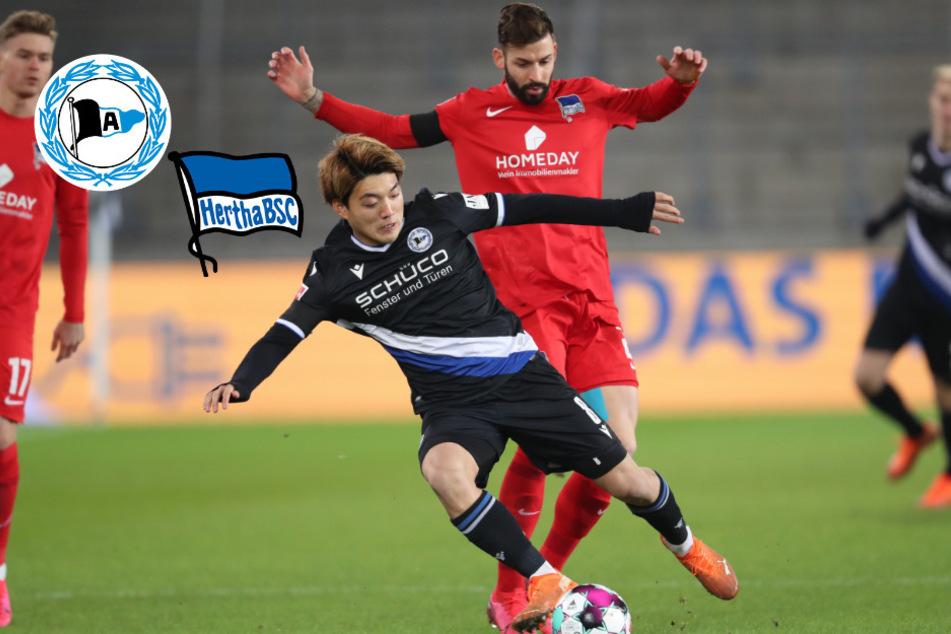 Erschreckend schlechte Hertha patzt in Bielefeld!