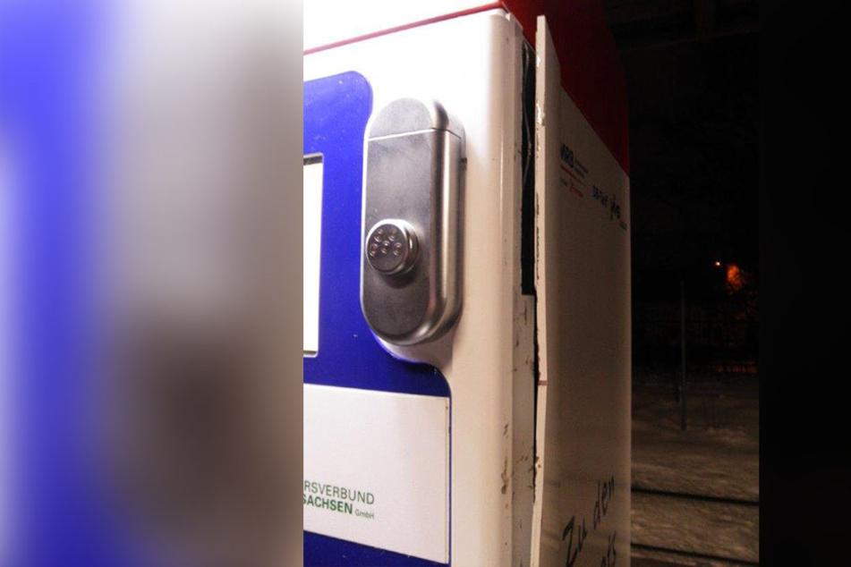Der Automat hielt diesmal stand. Trotzdem nimmt die Polizei den Fall ernst, weil es immer wieder zu Einbrüchen kommt.