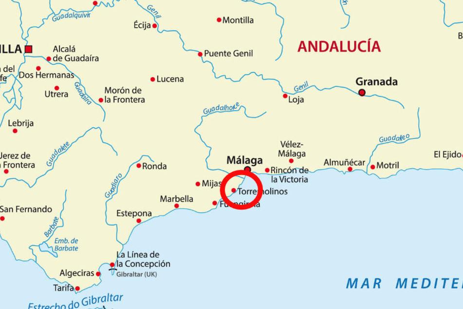 Torremolinos - eine der 100 Gemeinden der Provinz Málaga in Andalusien.