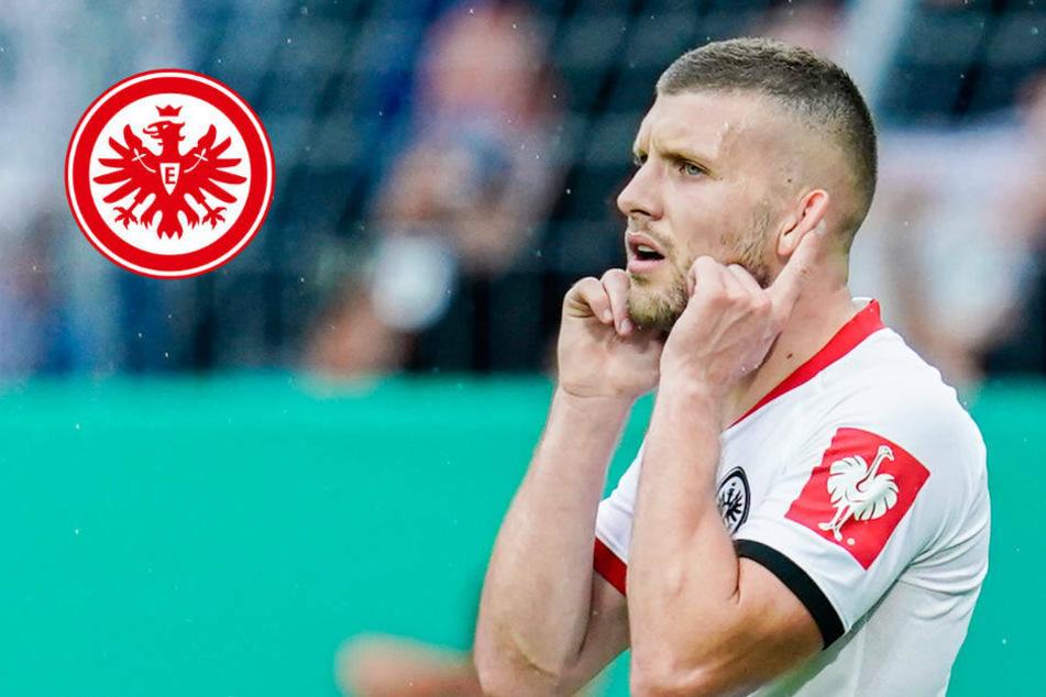 Eintracht-Trainer Hütter lässt Rebic-Einsatz in Leipzig offen
