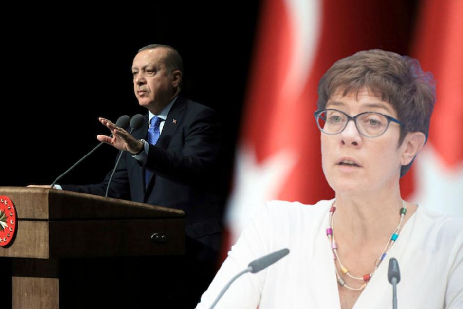 Annegret Kramp-Karrenbauer will keinen türkischen Wahlkampf auf deutschem Boden.