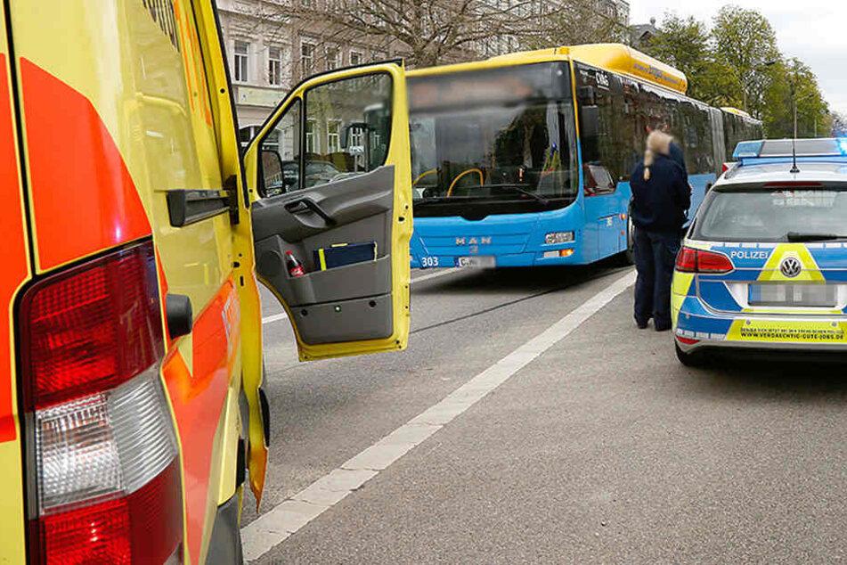 In einem Linienbus der CVAG wurde eine Kontrolleurin attackiert. (Archivfoto)